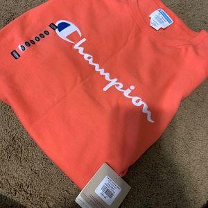 Champion T-shirt Size 3XL-NEW W/ TAGS Papaya